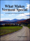 what makes vermont special