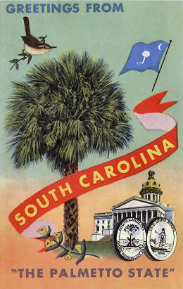 South Carolina, The Palmetto State