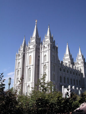 Salt Lake Temple, Church of Jesus Christ of Latter-Day Saints