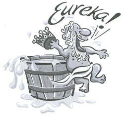 Archimedes Cries Eureka!